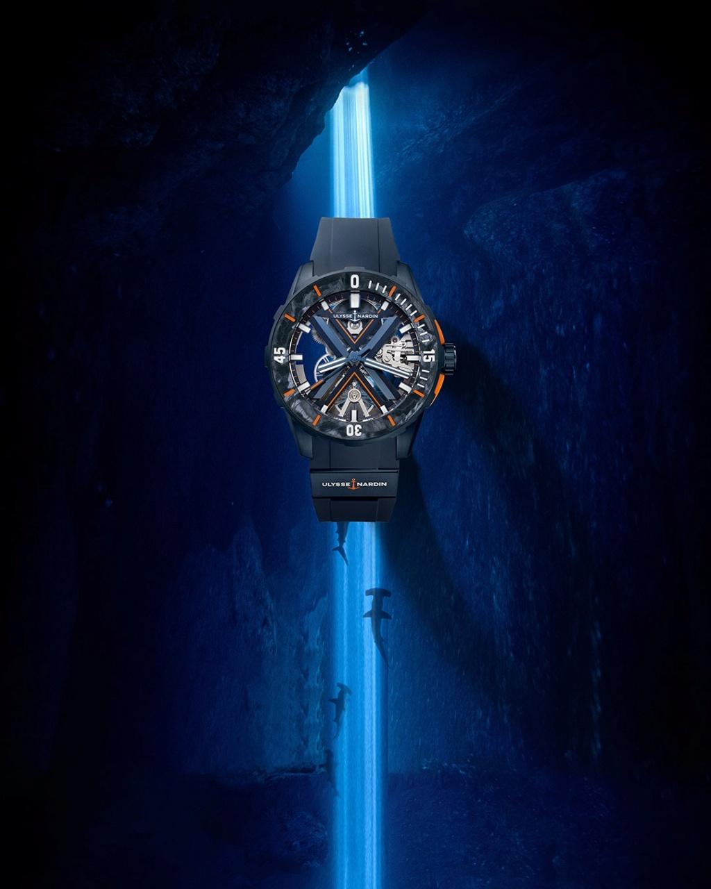 Nouveauté 2021 Ulysse Nardin - Diver X Skeleton 17029510