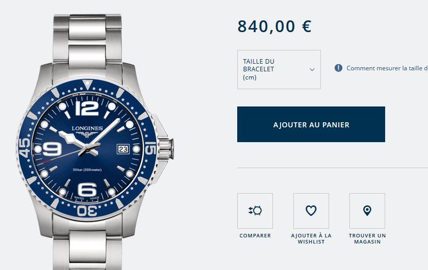 Une montre pour mes 30 ans (moi aussi :D) Longin10