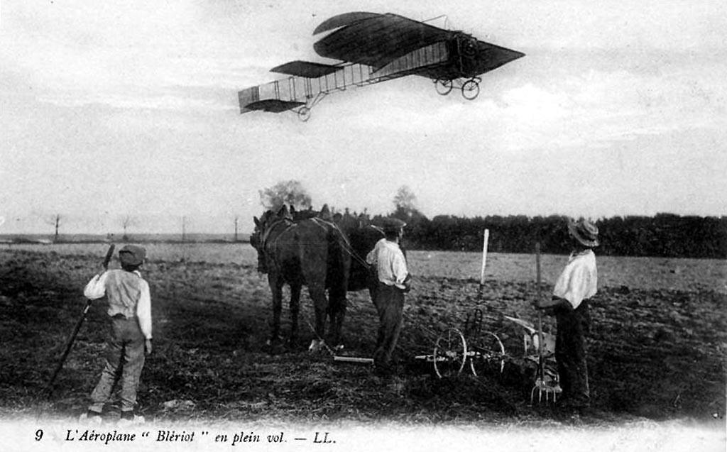 Farman - le premier voyage aérien Blerio11