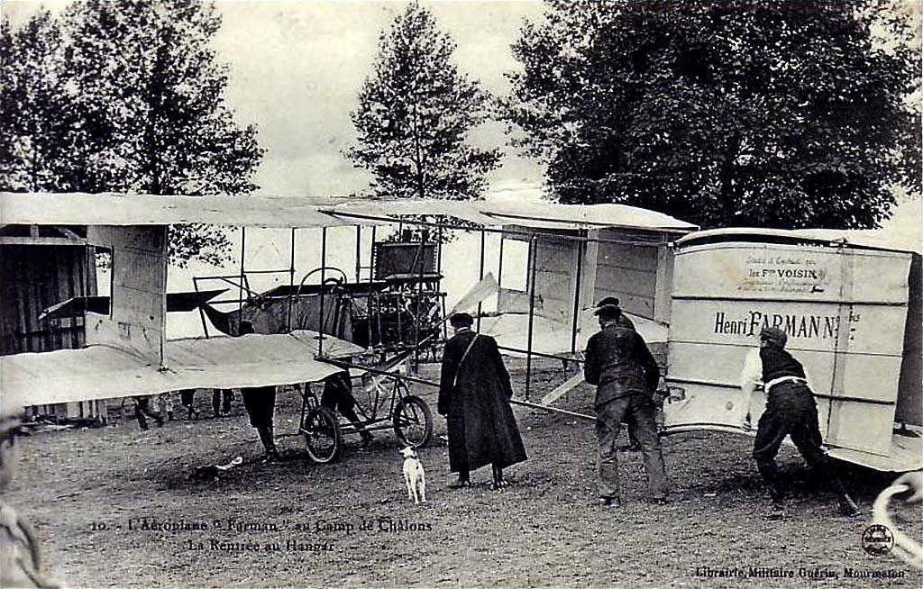 Farman - le premier voyage aérien Farman11
