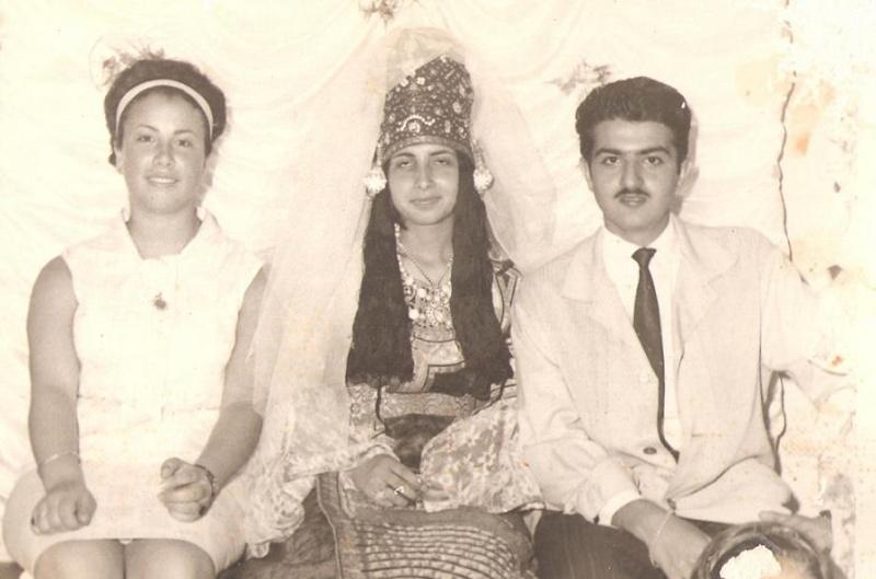 SOIR DU HENNE AVEC  LA KESOUA EL KBIRA (grande robe en arabe) Tanger10