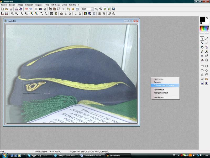 Recadrer une photographie ou un scan. R_410