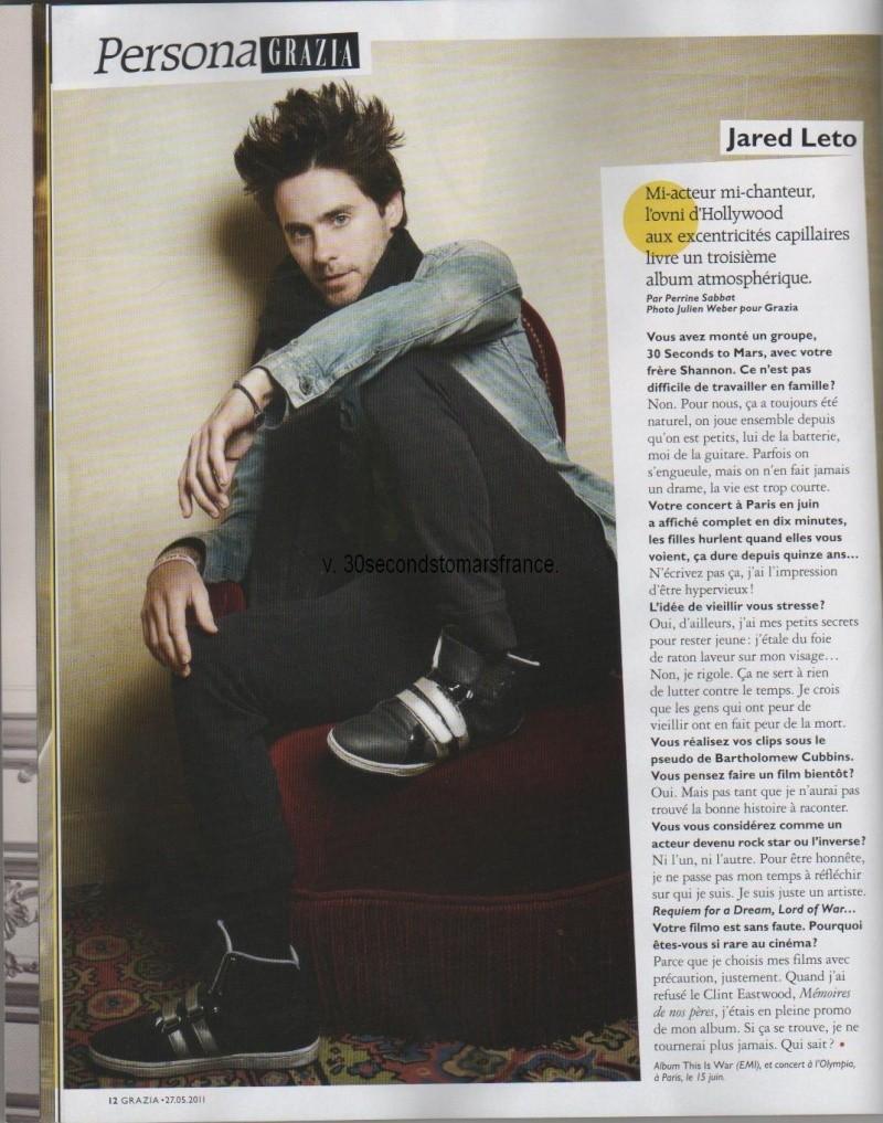 Jared dans Grazia Grazia10