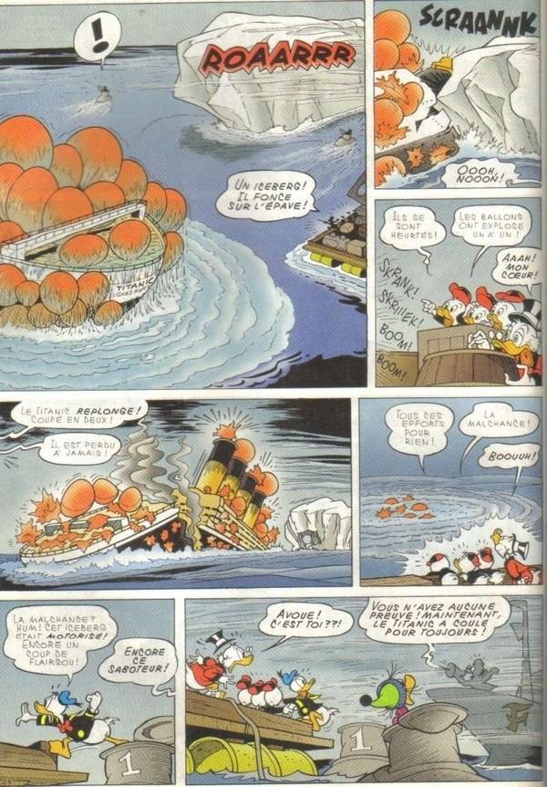 Le journal de Mickey spécial Titanic Picsou10