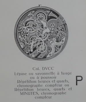 répétition minute chronographe Lephar10