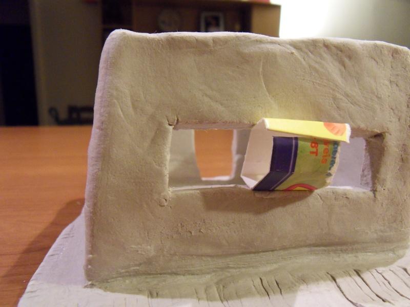 Décors en pâte à modeler Bunker13