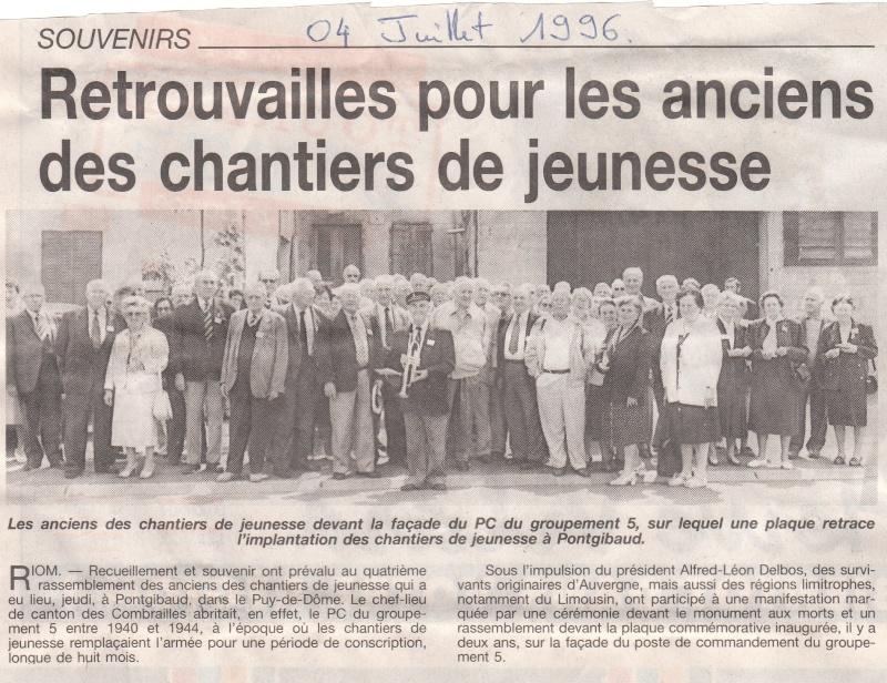 le musée des Chantier  de Jeunesse de Châtelguyon Img_0378