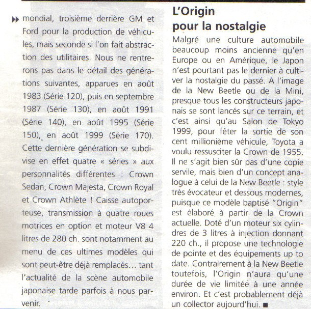 Topic officiel TOYOTA CROWN 50_ans34