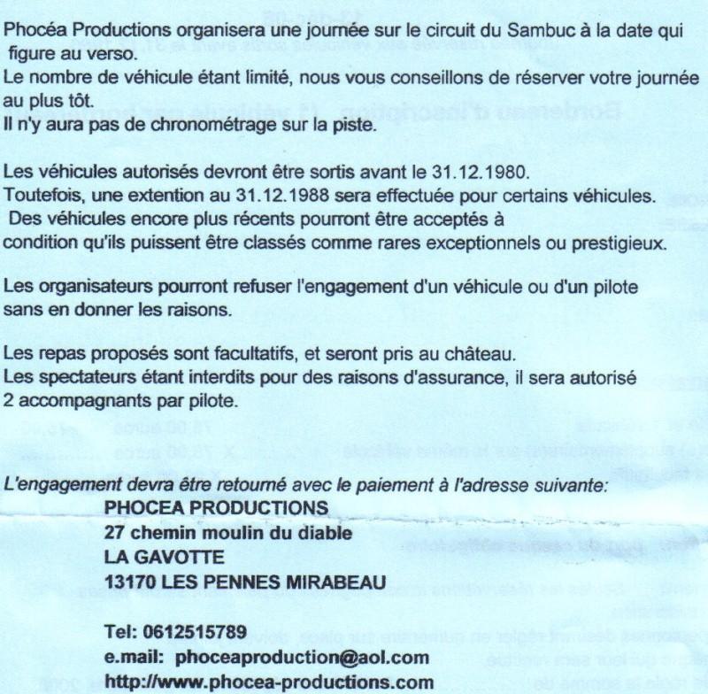 PHOCEA PRODUCTION... si vous voulez rouler... Sambuc13