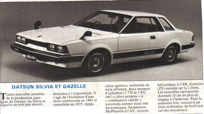 Les SILVIA [GAZELLE] Sp311 .240K .S110 .S12 Silvia10