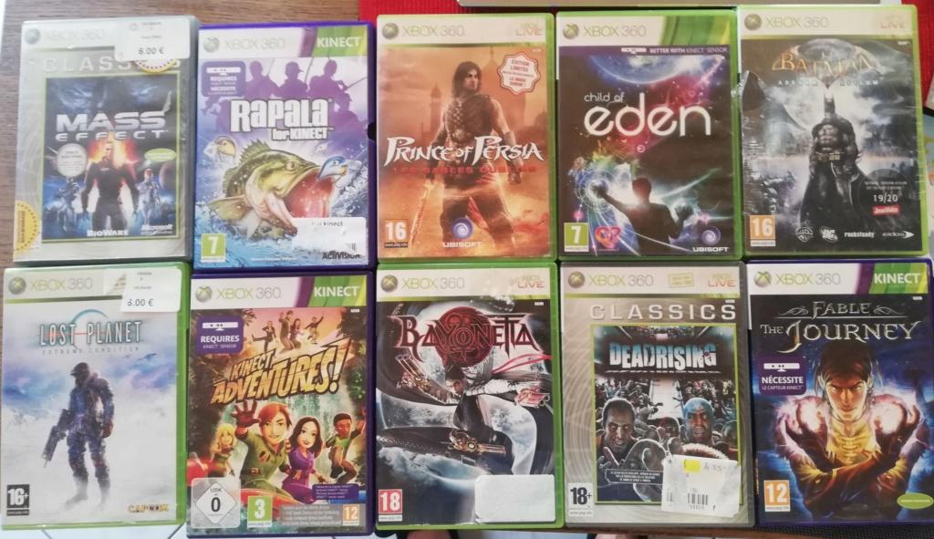 [VDS] XBOX 360, Kinect et 10 jeux 360_c10