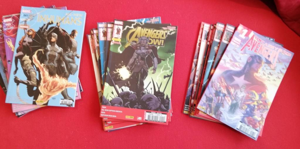 [VDS] comics fascicules et albums Fr et VO Comics10