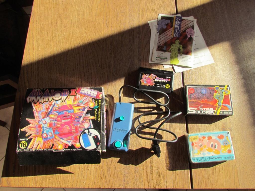 [VDS] 60  jeux Famicom ...promo tout le lot 90 euros fdpin Famine16