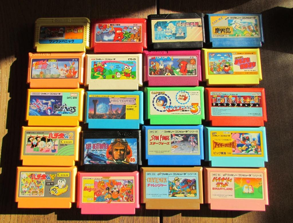 [VDS] 60  jeux Famicom ...promo tout le lot 90 euros fdpin Famine17