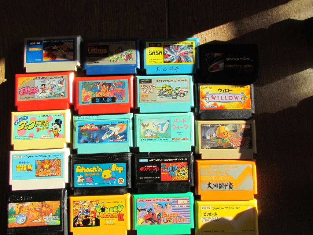 [VDS] 60  jeux Famicom ...promo tout le lot 90 euros fdpin Famine18