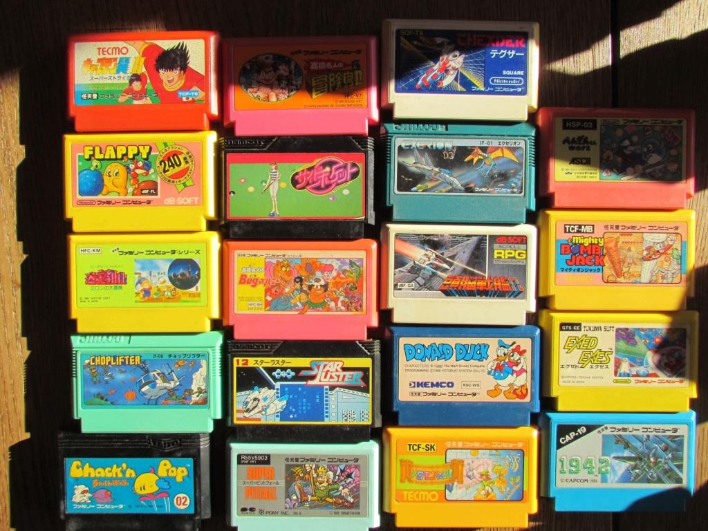 [VDS] 60  jeux Famicom ...promo tout le lot 90 euros fdpin Famine19