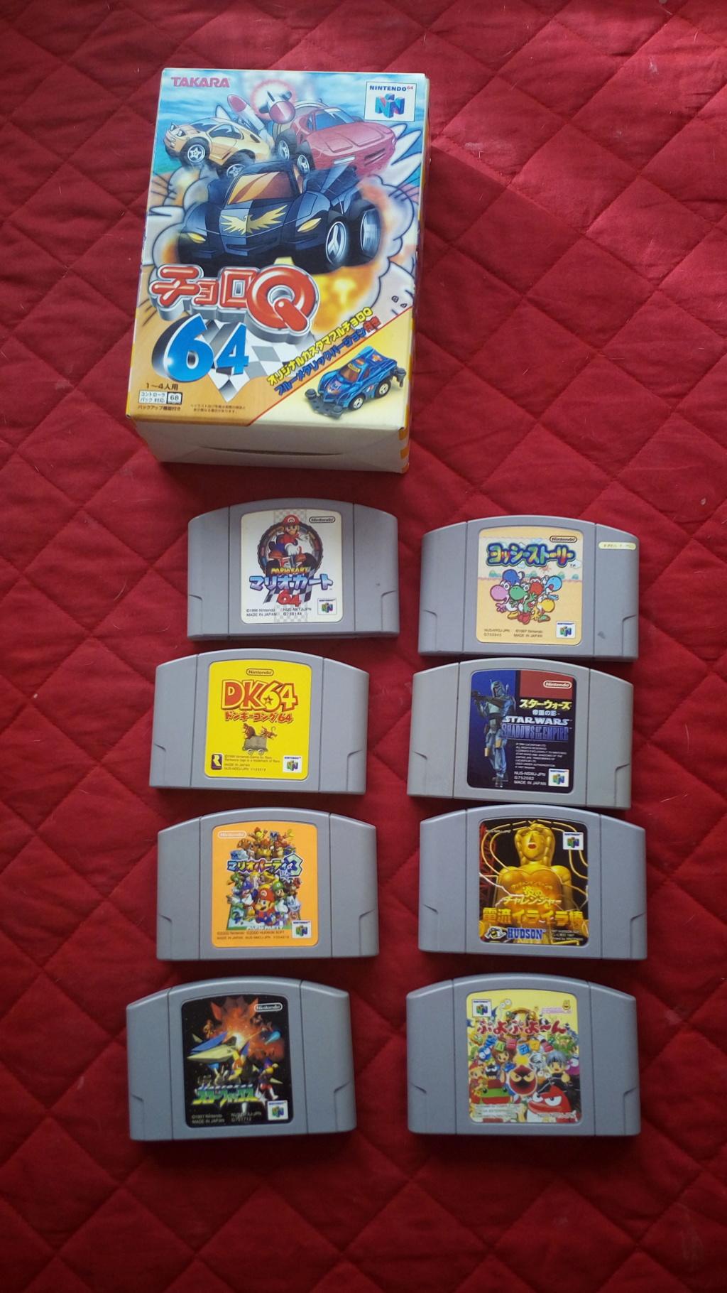[VENDU] lot Nintendo 64 japonaise PRIX INDECENT Img_2014