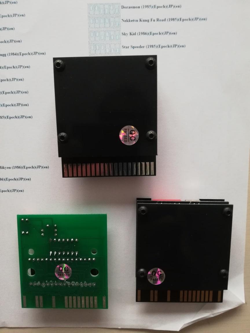 [VENDU] console Super Cassette Vision , 2 jeux et 3 multicartes Multi_12