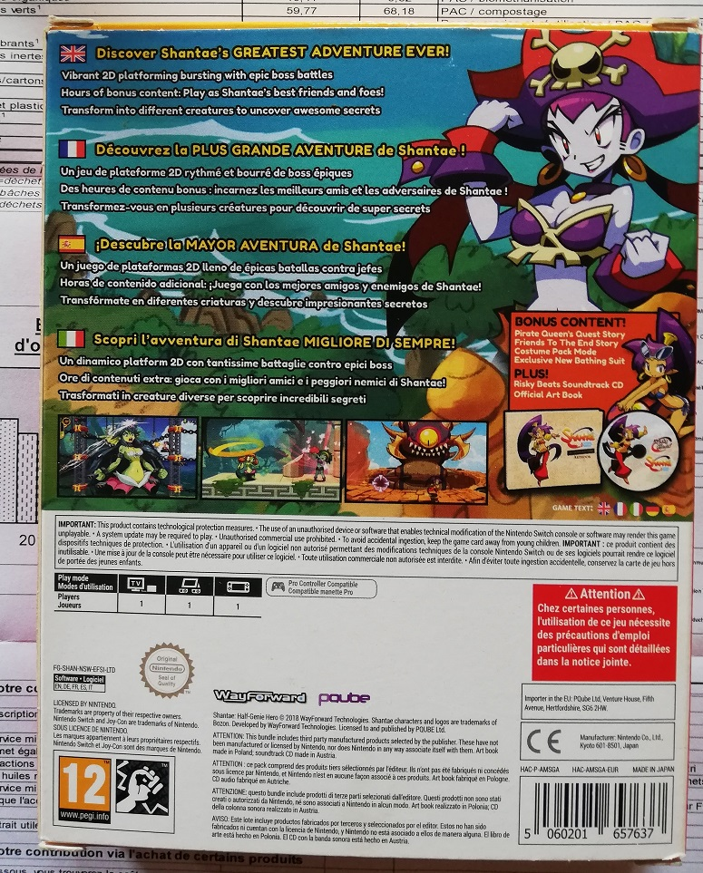 [RECH] Jeux Switch : New Super Mario, Shantae - Page 4 Shant210