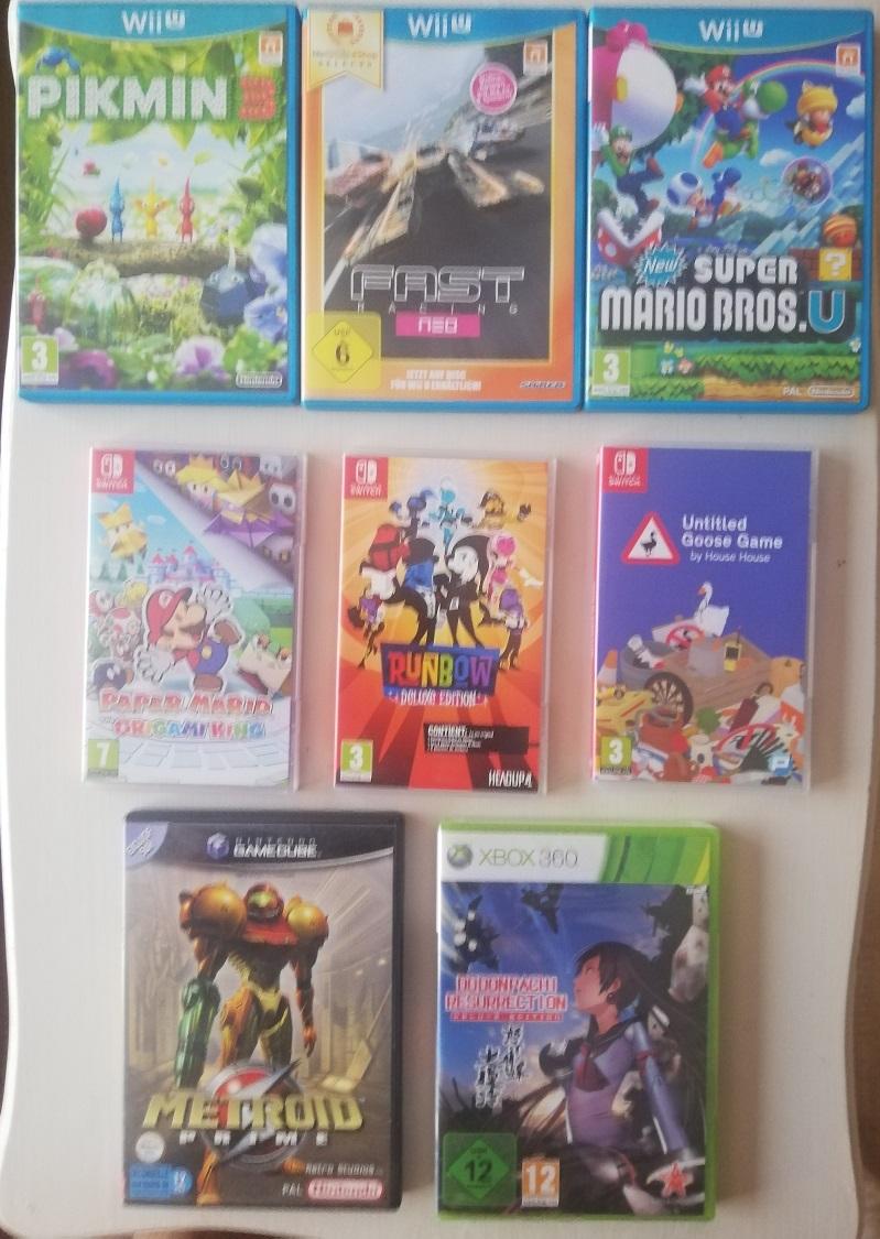 [VDS] 360 Dodonpachi, lot GC Bongo, jeux Gc, Wii, WiiU, Switch, jeux limités SWITCH Sw_110
