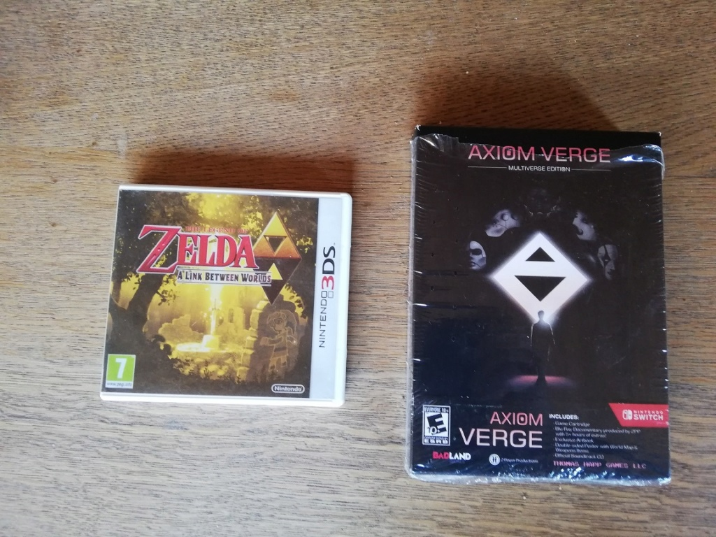 [VDS] jeux gba eur,Wii Milestone , GC Ikaruga Sw_3ds10