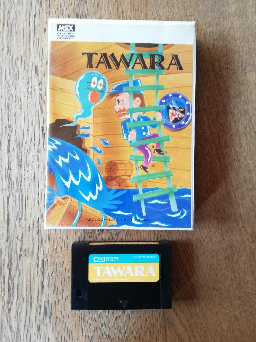 [Vendu] JEU MSX GUARDIC Tawara10
