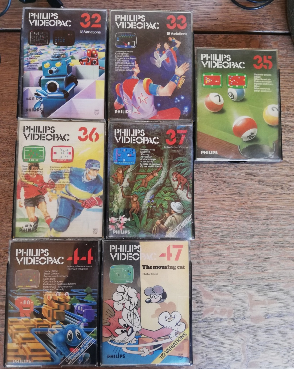 [VDS] ma collection Videopac Vp311