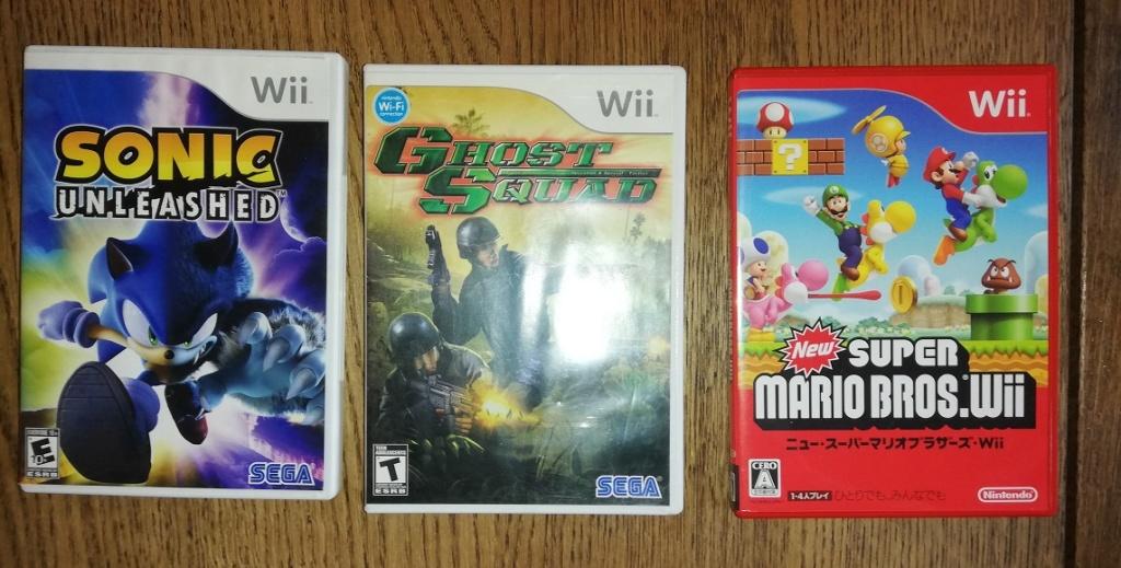 [VDS/ECH/ACH] NINTENDO jeux  Switch Sonic, La Mulana, Giana Sisters et autres jeux Nintendo Wii12