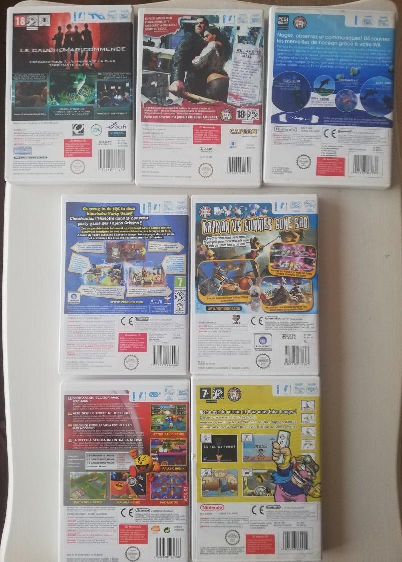[VDS] 360 Dodonpachi, lot GC Bongo, jeux Gc, Wii, WiiU, Switch, jeux limités SWITCH Wii_210