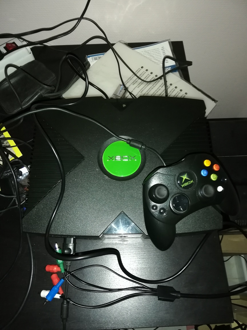 [VENDU] Xbox orig modifiée Xbox110