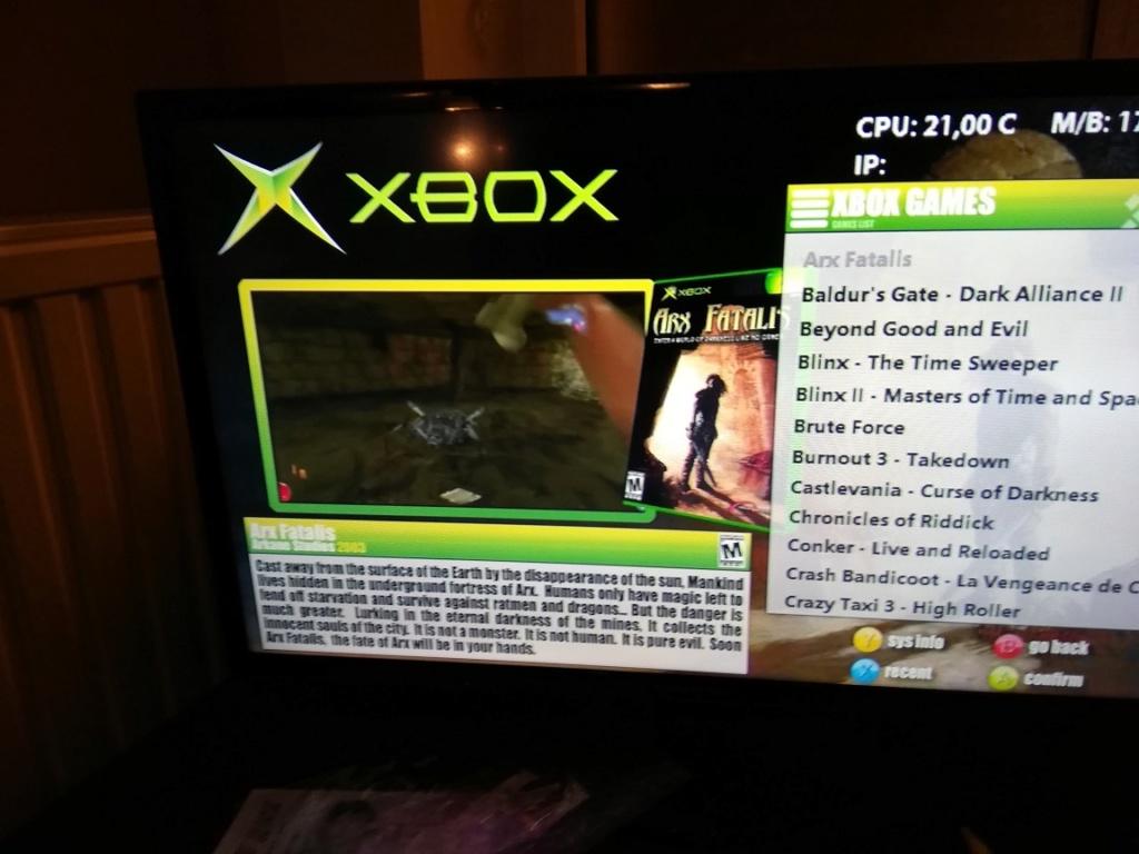 [VENDU] Xbox orig modifiée Xbox310