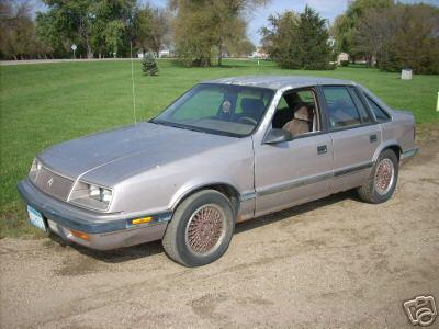 1989 Chrysler lebaron GTS shelby turbo  sur Ebay motors D1e4_111