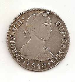 2 Reales de Fernando VII (Lima, 1810 d.C) Escane15