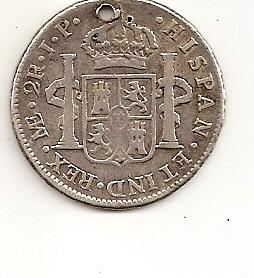 2 Reales de Fernando VII (Lima, 1810 d.C) Escane16