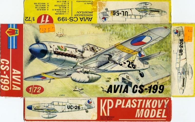 AVIA CS-199 [1:72 - KP] Box-ar10