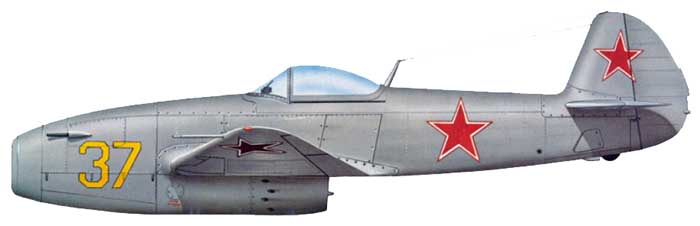 "Yakovlev Yak-15  ""Feather"" [1:72 - Eastern Express]  Yak-1512"