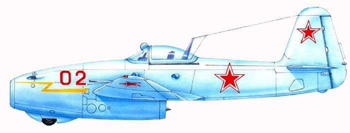 "Yakovlev Yak-15  ""Feather"" [1:72 - Eastern Express]  Yak-1710"