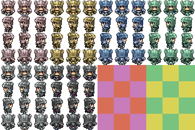 Characters en masse (Famitsu) Blankk10