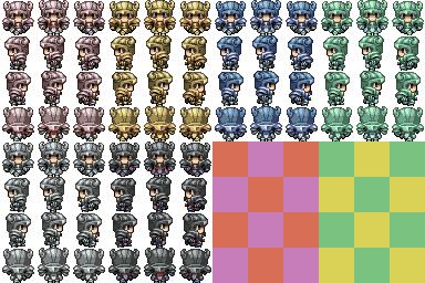 Characters en masse (Famitsu) Cheval10
