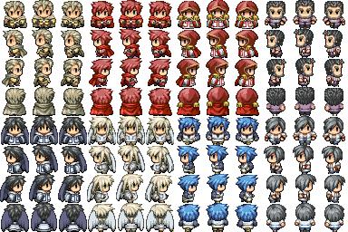 Characters en masse (Famitsu) Persos11