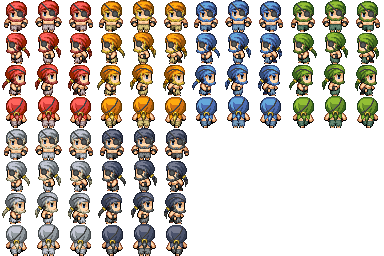 Characters en masse (Famitsu) Pirate10