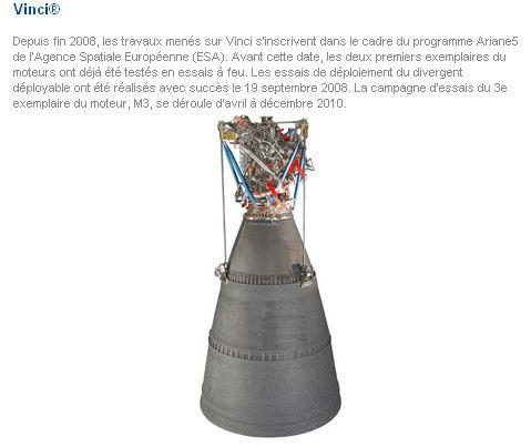 Le lanceur Ariane 5 ME Moteur10