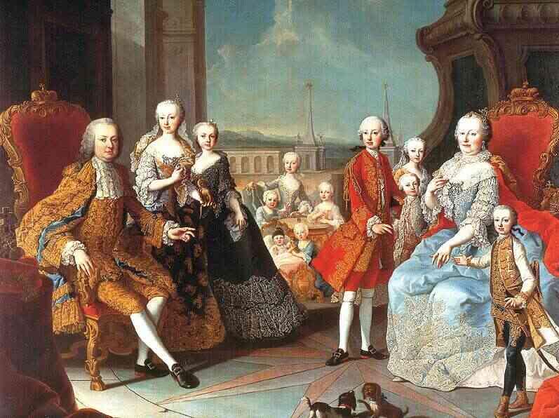 La famille Impériale par Meytens Meyten10
