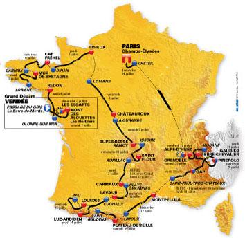 Le Cantal accueille 3 jours le Tour de France 2011 Tour10