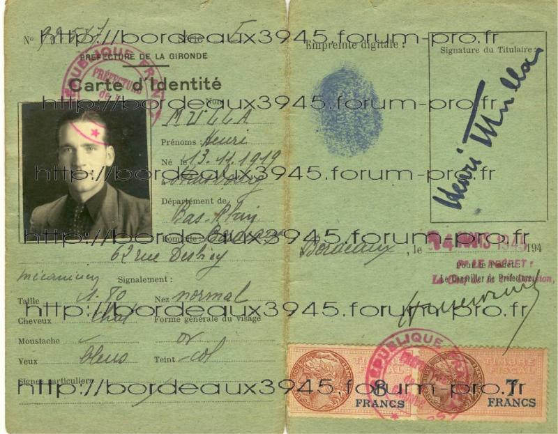 Henri Salmide / Heinz Stahlschmidt  / bunker Rue Raze Août 1944 Sans_t10