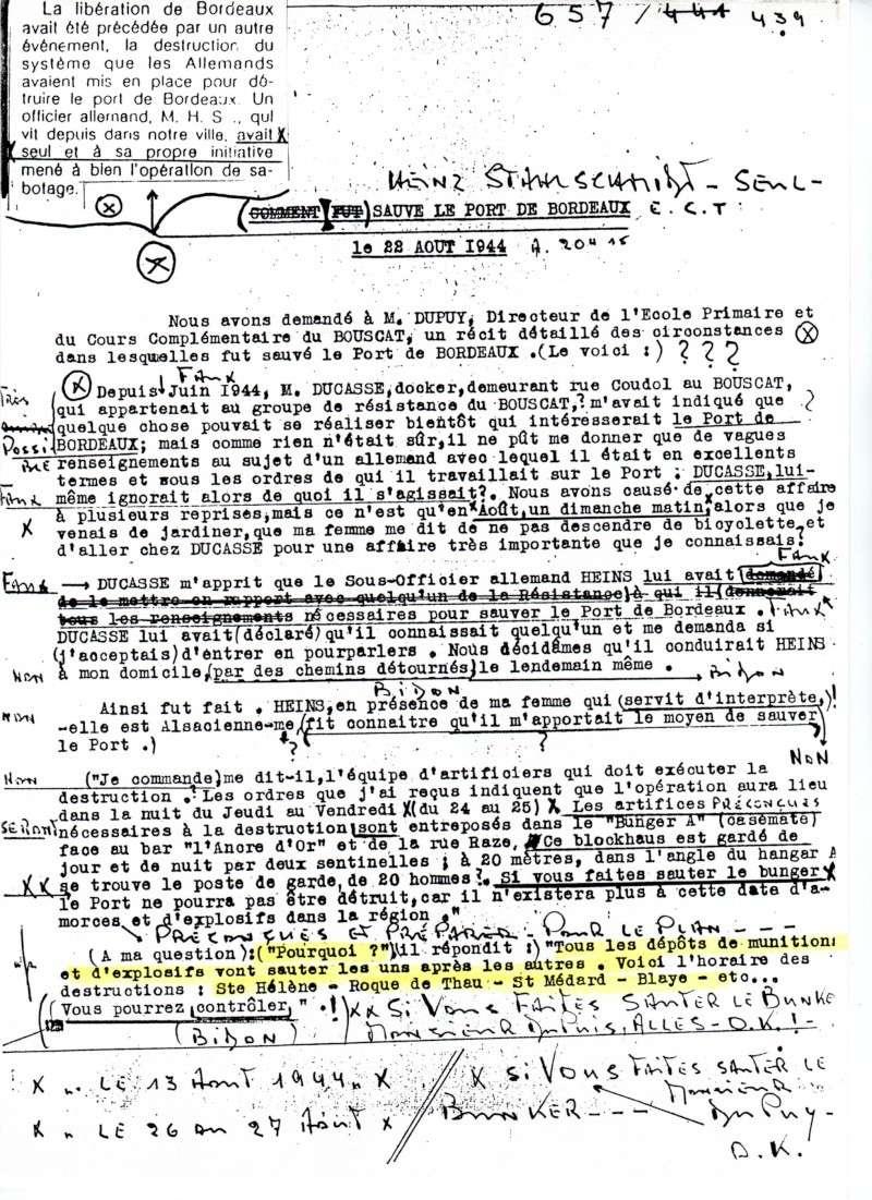 Henri Salmide / Heinz Stahlschmidt  / bunker Rue Raze Août 1944 Scan_s10