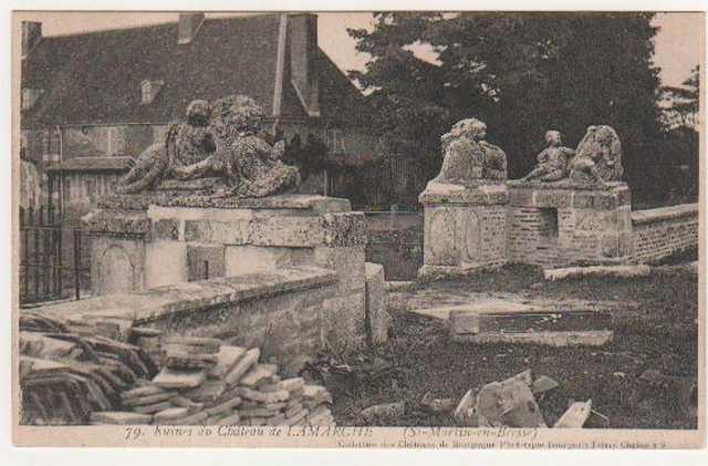Ruines du chateau de La Marche à Saint Martin en Bresse Marche10