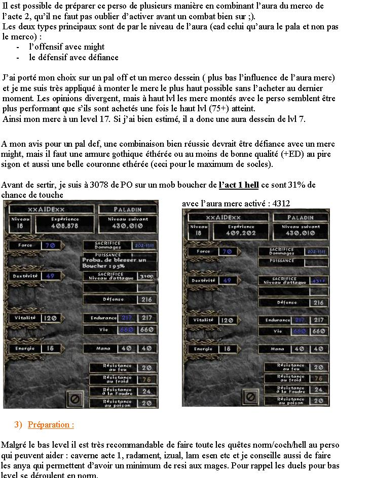 BUILD PvP Lvl 18 : Paladin Sacrifice Guidep11