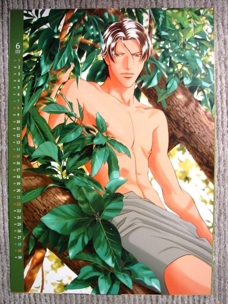 Calendario 2008 Iwaki Kyosuke  & Kato Yoji (haru wo) 0610