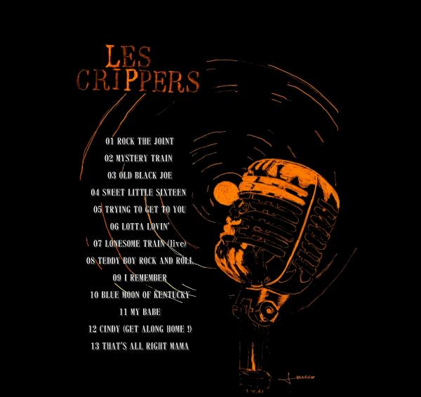 """CD des CRIPPERS - """"Hommage au Rock and Roll""""  L_260210"""